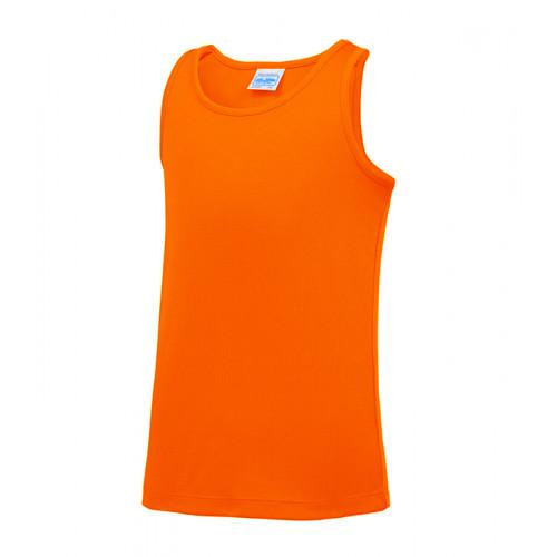 Just Cool Kids Cool Vest Electric Orange