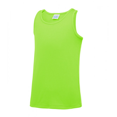 Just Cool Kids Cool Vest Electric Green