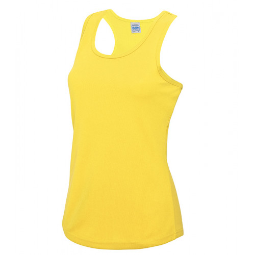Just Cool Girlie Cool Vest Sun Yellow