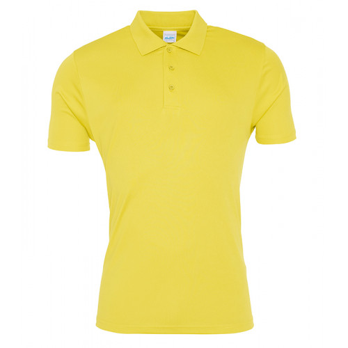 Just Cool Cool Smooth Polo Sun Yellow