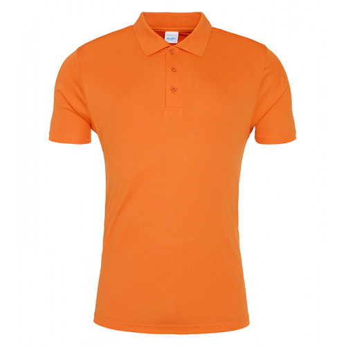 Just Cool Cool Smooth Polo Orange Crush