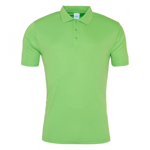 Just Cool Cool Smooth Polo Lime Green