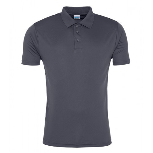 Just Cool Cool Smooth Polo Charcoal