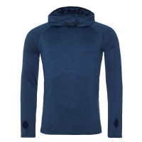 Just Cool Men´s Cool Cowl Neck Navy Melange