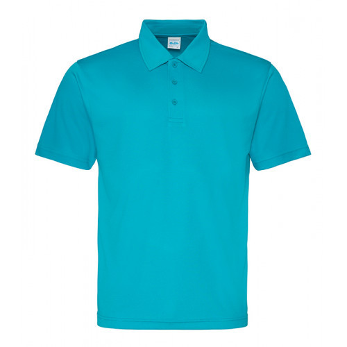 Just Cool Cool Polo Turquoise Blue