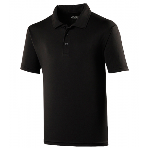 Just Cool Cool Polo Jet Black
