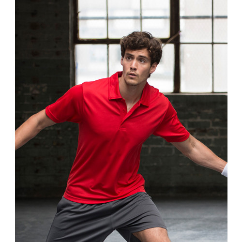 Just Cool Cool Polo Fire Red