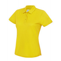 Just Cool Girlie Cool Polo Sun Yellow