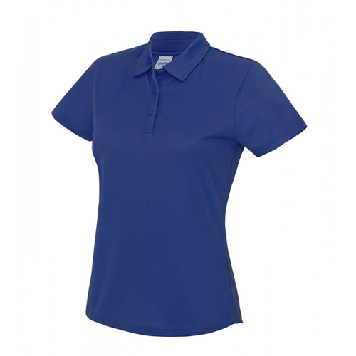 Just Cool Girlie Cool Polo Royal Blue