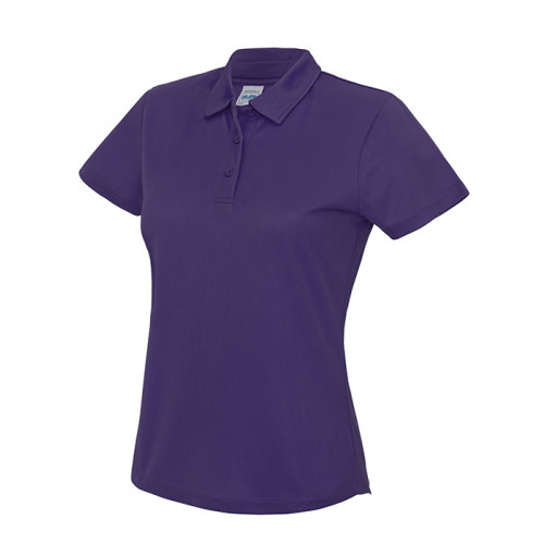Just Cool Girlie Cool Polo Purple