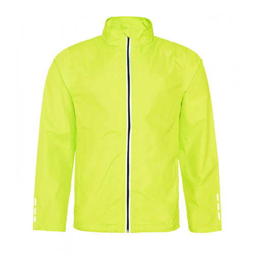 Just Cool Cool Running Jacket Electric Yellow