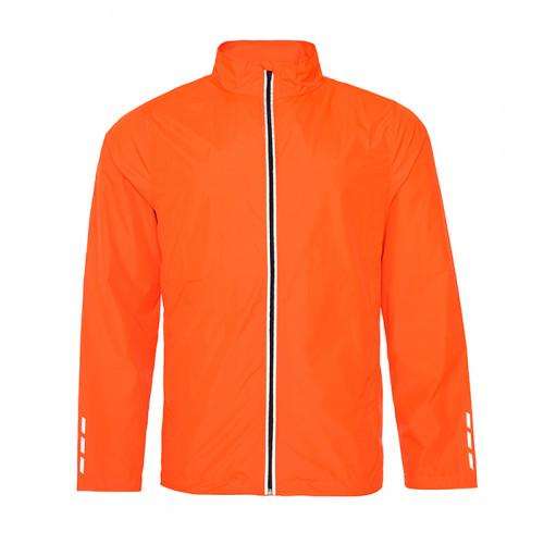 Just Cool Cool Running Jacket Orange Crush