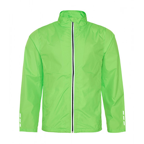 Just Cool Cool Running Jacket Electric Green