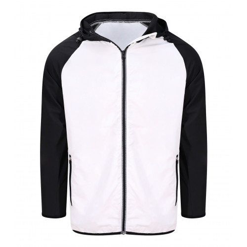 Just Cool Cool Contrast Windshield Jacket Arctic White/Jet Black
