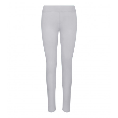 Just Cool Girlie Cool Workout Legging Silver Grey