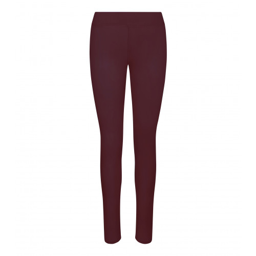 Just Cool Girlie Cool Workout Legging Burgundy