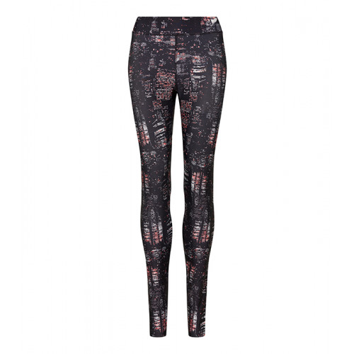 Just Cool Girlie Cool Printed Legging Charcoal Static