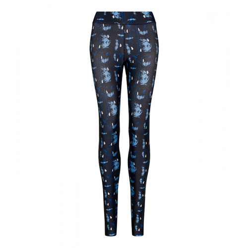 Just Cool Girlie Cool Printed Legging Abstract Blue
