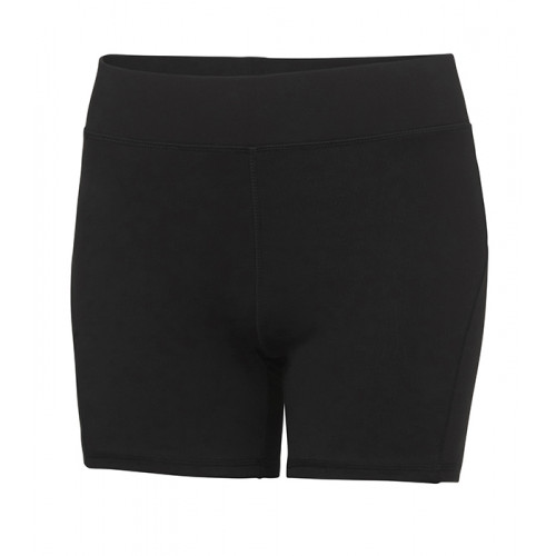 Just Cool Girlie Cool Training Shorts Jet Black