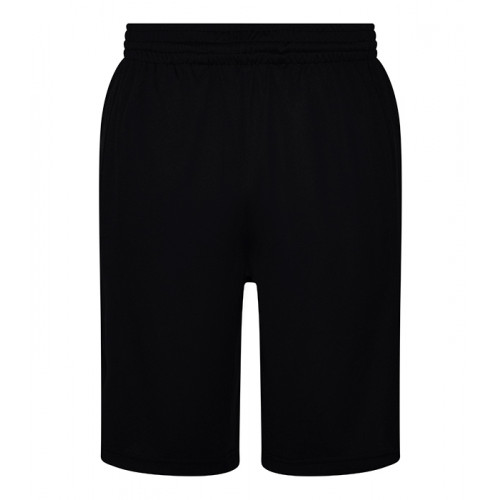 Just Cool Cool Panel Shorts Jet Black