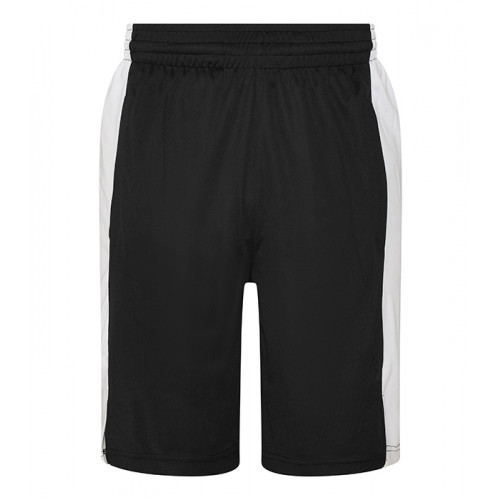 Just Cool Cool Panel Shorts Jet Black/Arctic White