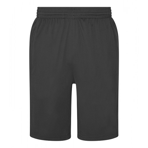 Just Cool Cool Panel Shorts Charcoal