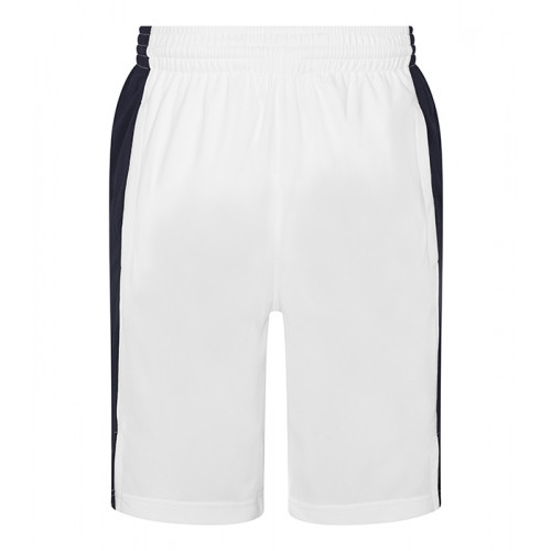 Just Cool Cool Panel Shorts Arctic White/French Navy