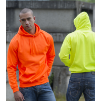 Just Hood Electric Hoodie Electric Orange