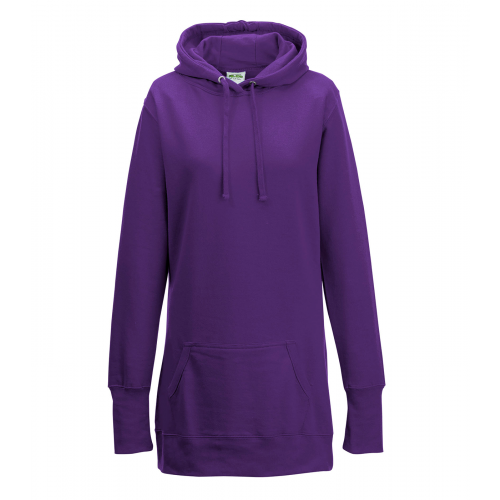 Just hoods Girlie Hoodie Purple