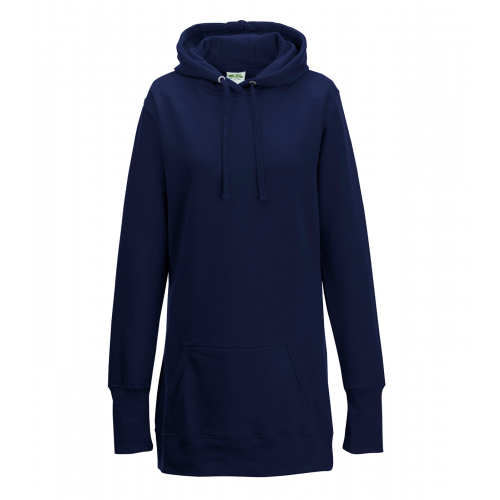 Just hoods Girlie Hoodie French Navy