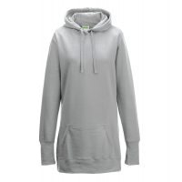 Just hoods Girlie Hoodie Heather Grey