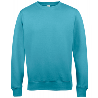 AWD Just Hood AWDis Sweat Turquoise Surf