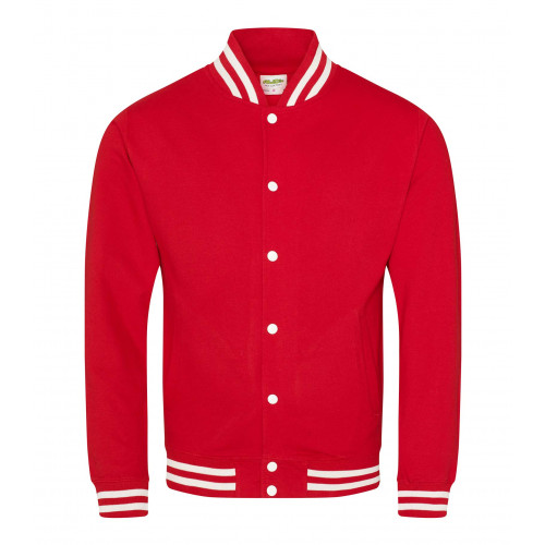 AWD Just Hood College Jacket Fire Red