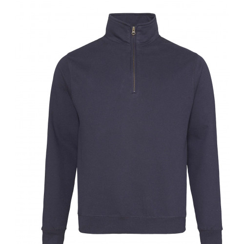 Just Hood Sophomore ¼ Zip Sweat New French Navy