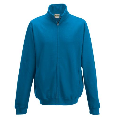 AWD Just Hood Fresher Full Zip Sweat Sapphire Blue