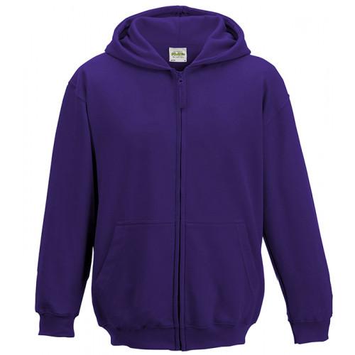 Just Hood Kids Zoodie Purple