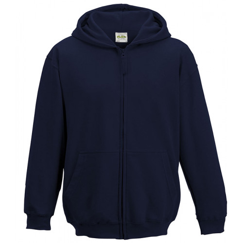 Just Hood Kids Zoodie New French Navy