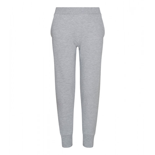 Just hoods Kids Tapered Track Pant Heather Grey