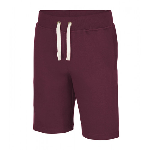 Just hoods Campus Shorts Burgundy