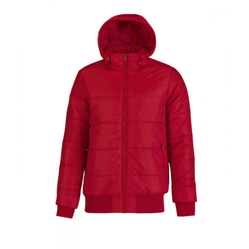 B and C Collection Men´s Superhood Jacket Red/Black