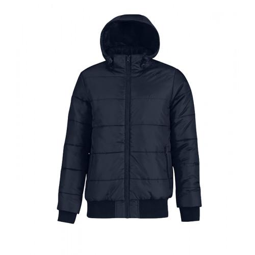 B and C Collection Men´s Superhood Jacket Navy/Neon Green