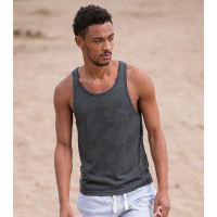 Just Ts Tri-Blend Vest Black