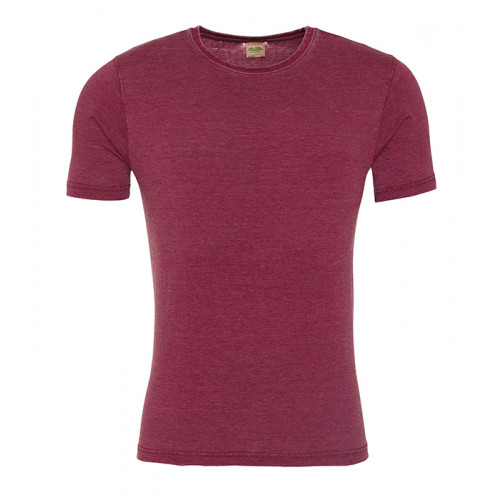 Just Ts Washed T Burgundy