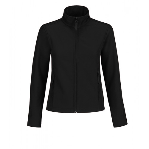 B and C Collection ID.701 Womens Softshell Black