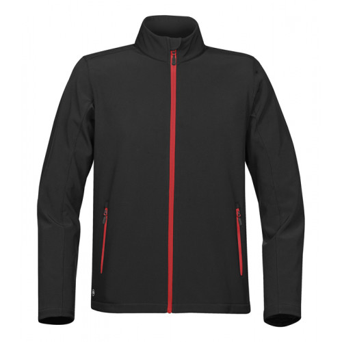 Stormtech M's Orbiter Softshell Black/Bright Red