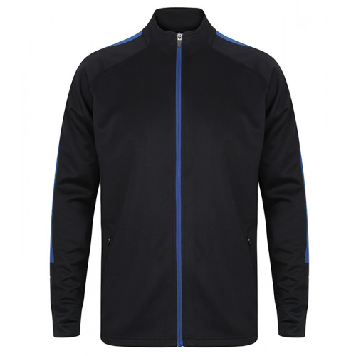 Finden Hales Adult'S Knitted Tracksuit Top Navy/Royal
