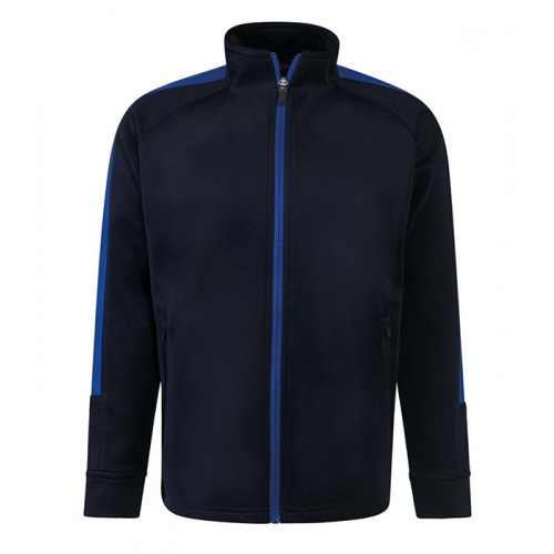 Finden Hales Kid'S Knitted Tracksuit Top Navy/Royal