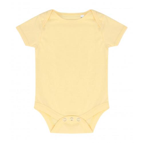 Larkwood Essential Short Sleeve Bodysuit PaleYellow