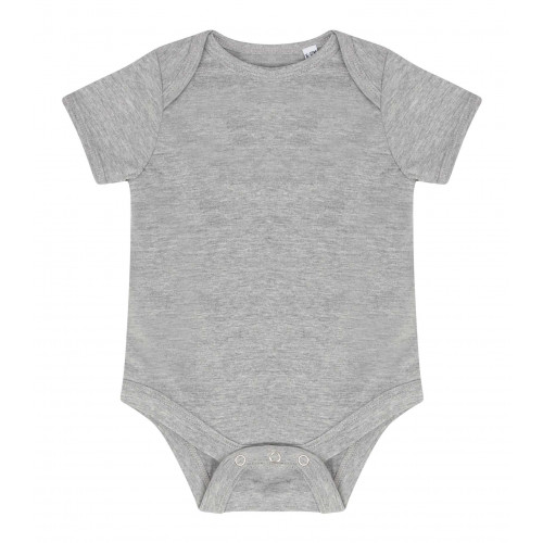 Larkwood Essential Short Sleeve Bodysuit HeatherGrey