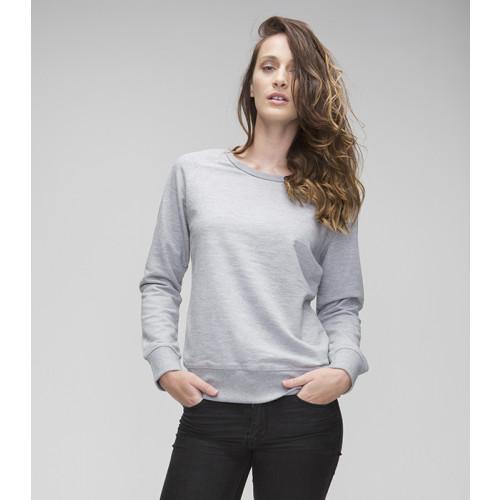 Mantis W's Favorite Sweatshirt Heather Grey Melange